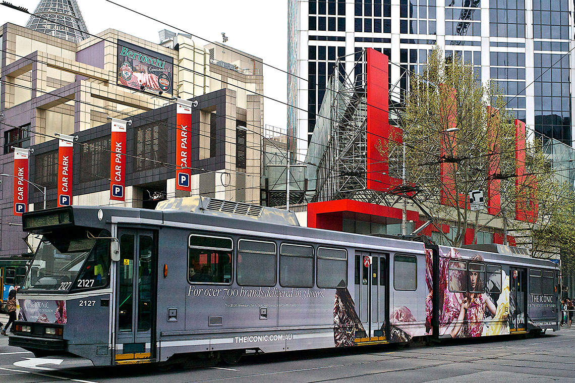 The Iconic - Tram installation