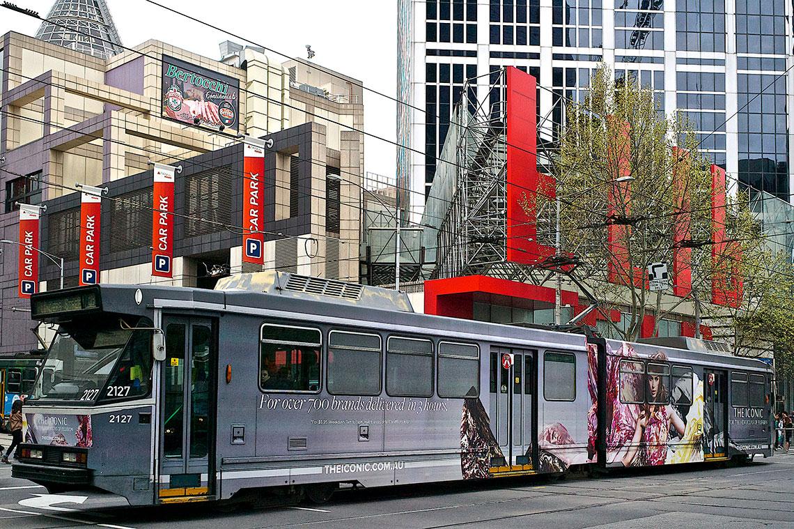 The Iconic - Tram installation