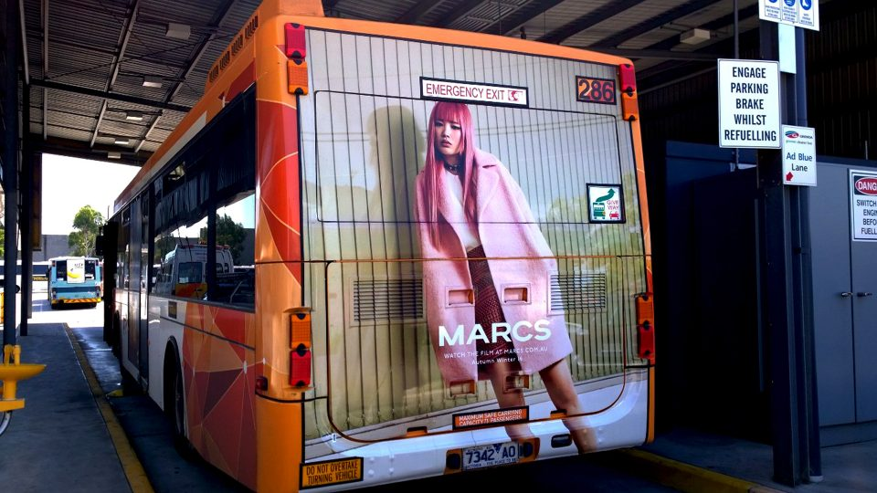 Bus full back - Marcs